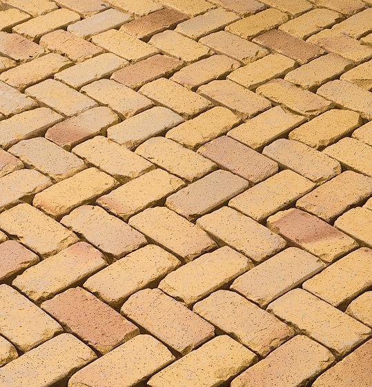 Тротуарная плитка из глины